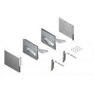 KINVARO T SLIM S, Set Wood PF1000-2250, Soft-close,Silver підйомний мех.для відкідних фасадів,сріб.