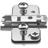 CLIP опорная планка, крестообразная 0 мм, сталь, EXPANDO, РО: эксцентрик