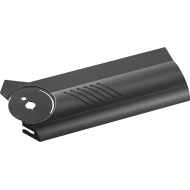 Заглушка механизма AVENTOS HF, левая, темно-серый