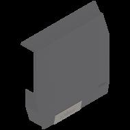 Малый поворотный подъемник AVENTOS HK-S, заглушка, с предварительно вмонтированной малой заглушкой, левый
