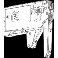 Подъемный механизм AVENTOS HK top, силовой механизм, коефф. мощ.=930-2800 (2 шт.), для TIP-ON
