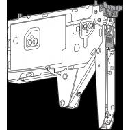 22K2901 AVENTOS HK top - поворотный подъемник, силовой механизм, фактор мощности: 3200-9000 (на 2 шт.) минимальная внутренняя глубина корпуса: 175.5 мм, крепления на корпус: из прикручивания, симметрично: да