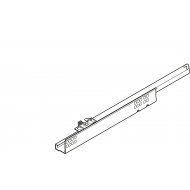 TANDEM част. выдвиж., 30 кг, НД=260 мм, с фиксатором, правая