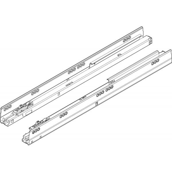 TANDEMBOX BLUMOTION направляющая, 65 кг, НД = 600 мм, левая/правая