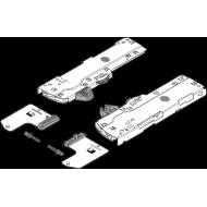 Механизм TIP-ON BLUMOTION для LEGRABOX/MOVENTO, Тип S0, НД=270-349 мм, Общий вес ящика=0-10 кг, лев.
