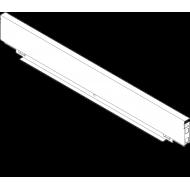 LEGRABOX задняя стенка со стали, высота M (106 мм), ВШК=562.5-563.4 мм