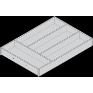AMBIA-LINE лоток для столовых приборов для LEGRABOX, декор под дерево, 4 лотка, НД= 450 мм, ширина=300 мм