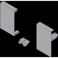 Крепления передней панели, высота M, для внутренней ящика, левое/правое, TANDEMBOX antaro