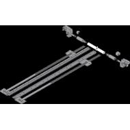 TANDEM боковой стабилизатор, НД=410 мм, ШК=1400 мм, частичное выдвижение, под раскрой