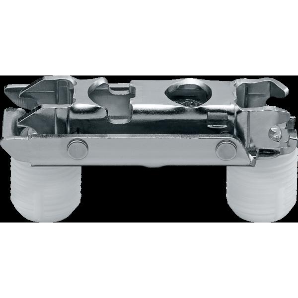 CLIP опорная планка, прямая (20/32 мм), 3 мм, сталь, под пресс, РО: эксцентрик