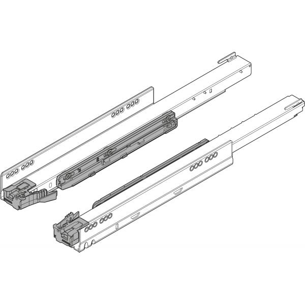 Направляющая к корпусу LEGRABOX с BLUMOTION, полное выдвижение, 40 кг, НД=350 мм, левая/правая