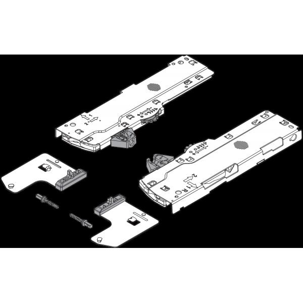 Комплект (Единица + триггер) TIP-ON BLUMOTION для LEGRABOX/MOVENTO, Тип S0, НД=270-349 мм