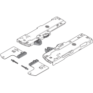 Комплект (Единица + триггер) TIP-ON BLUMOTION для LEGRABOX/MOVENTO, Тип L1, НД=350-750 мм, Общий вес