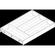 AMBIA-LINE лоток для столовых приборов для LEGRABOX, пластмасса / сталь, 4 лотка, НД = 450 мм, ширина = 300 мм