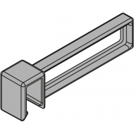 Продольный разделитель для поперечного релинга AMBIA-LINE, LEGRABOX pure