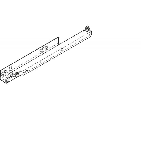 TANDEM plus BLUMOTION полн. выдвиж., 30 кг, НД=310 мм, с фиксатором, левая