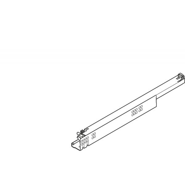 TANDEM plus BLUMOTION полн. выдвиж., 30 кг, НД=285 мм, с фиксатором, правая