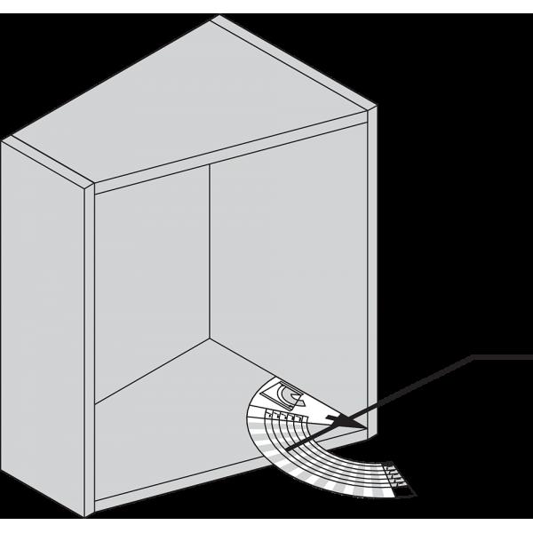 Угловой шаблон корпуса+белый*P/U: 1/300