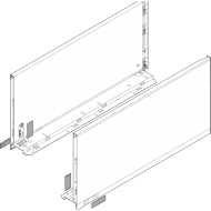 LEGRABOX царга, высота C (177,0 mm), НД = 600 мм, левая/правая, LEGRABOX pure