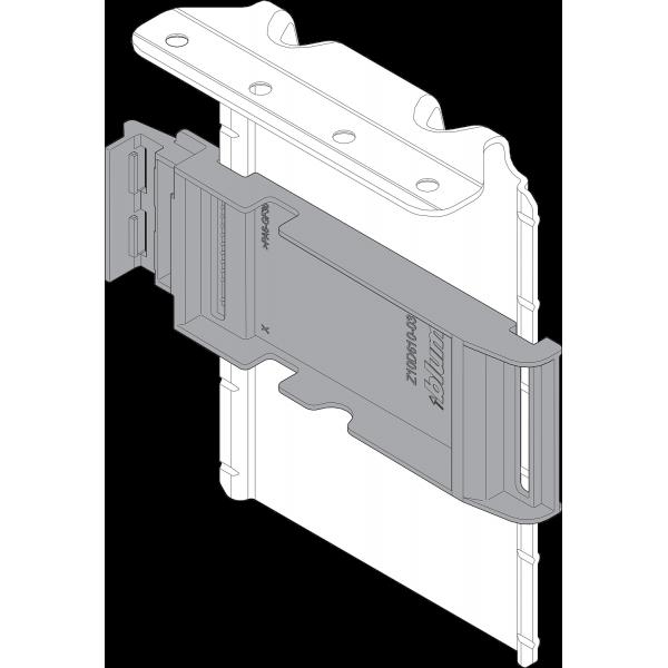 Уголок-держатель SERVO-DRIVE, верхний из предварительно вмонтированным адаптером, из стали