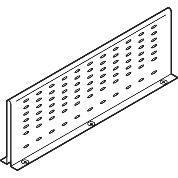 ORGA-LINE межсекционная стенка, НД=550 мм, TANDEMBOX plus ящик с высоким фасадом