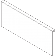 AMBIA-LINE адаптер для задней стенки из ДСП для LEGRABOX ящик с высоким фасадом высота C, сталь