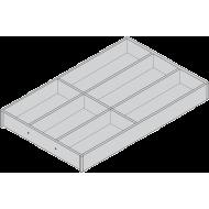 AMBIA-LINE лоток для столовых приборов для LEGRABOX, декор под дерево, 6 лотков, НД = 500 мм, ширина = 300 мм