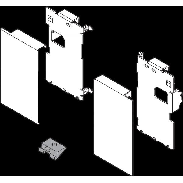 LEGRABOX крепления передней панели, высота M, для внутреннего ящика, левое/правое