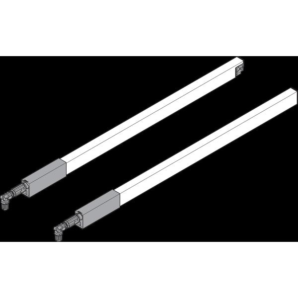 TANDEMBOX продольный релинг (сверху), ящик с высоким фасадом, НД=270 мм, левый/правый, TANDEMBOX ant