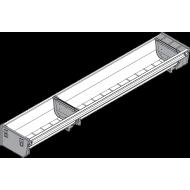 ORGA-LINE набір лотків (часткове заповнення), TANDEMBOX шухляда, НД=600 мм, ширина=103 мм
