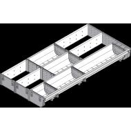 ORGA-LINE комбинированный набор (частичное заполнение), TANDEMBOX ящик, НД = 600 мм, ширина = 297 мм