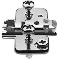 CLIP ответная планка, крест., 0 мм, сталь, EXPANDO, Регулировка по высоте: эксцентрик