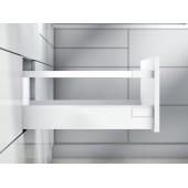 Тандембокс ANTARO 450D одинарный релинг, под мойку, белый шелк