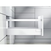 Тандембокс ANTARO 400D одинарный релинг, белый шелк
