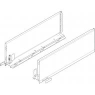 LEGRABOX царга, высота C (177,0 mm), НД = 550 мм, левая / правая, LEGRABOX pure