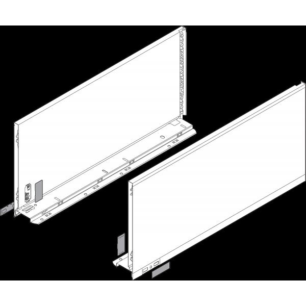 Царга LEGRABOX, высота F (241,0 мм), НД=650 мм, левая/правая, LEGRABOX pure