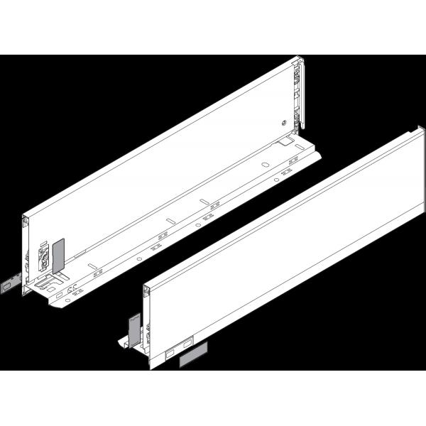 Царга LEGRABOX, высота K (128,5 мм), НД=450 мм, левая/правая