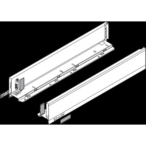 LEGRABOX боковина L=500 M, левая/правая, земел. черный