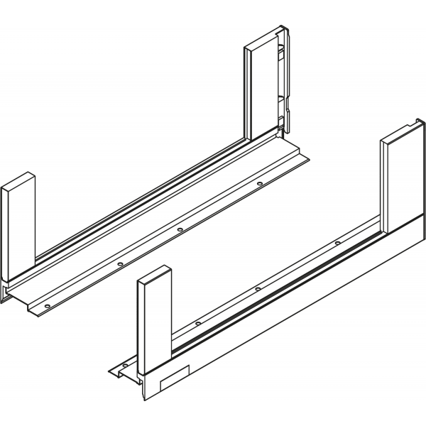 Царга LEGRABOX free, высота C (177,0 мм), НД=450 мм, левая/правая, LEGRABOX free