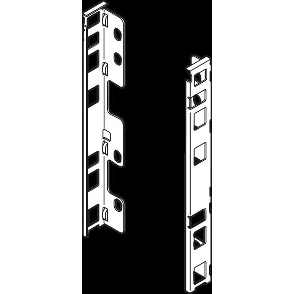 LEGRABOX  держатель задней стенки, F, левый/прав,земел.черный