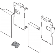 LEGRABOX держатель фасада, высота M, для внутренних ящиков, левый/правый