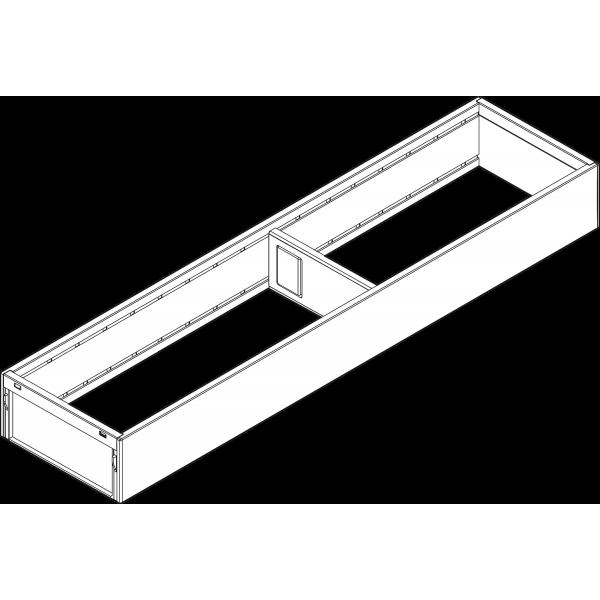 AMBIA-LINE рама для LEGRABOX, L=500мм, ширина=100мм, серый орион