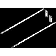 METABOX продольный релинг, НД=350мм,  (комплект)