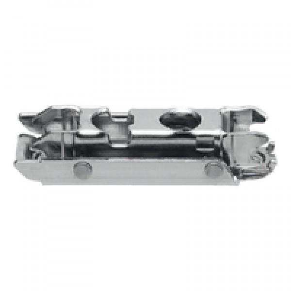 CLIP ответная планка, прям. (20/32 мм), 0 мм, сталь, на шурупы, РВ: эксцeнтрик