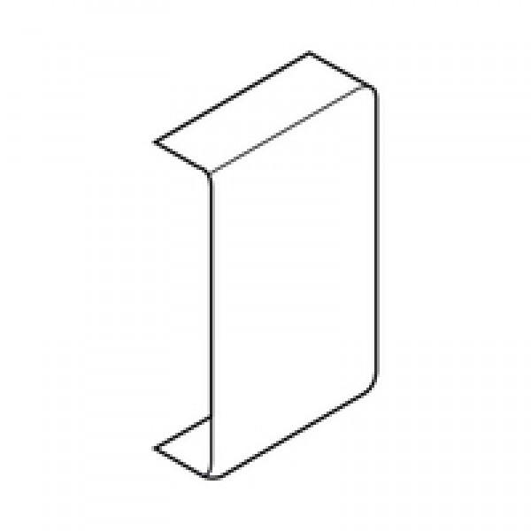 METABOX заглушка, прямоугольная, симметрич., с надписью (blum), для ZSF.17/18