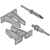 Замок и держатель для TIP-ON, пластмасса/сталь