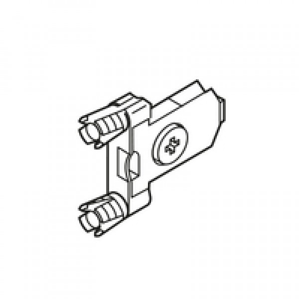 TANDEMBOX крепление фасада, INSERTA, симметрич.