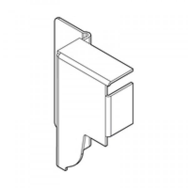 TANDEMBOX держатель задней стенки из ДСП, высота N (81,5 мм), правый