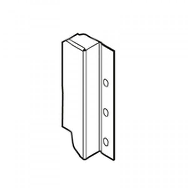 TANDEMBOX держатель задней стенки из ДСП, высота B (160 мм), левый