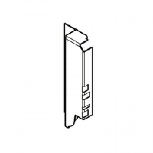 TANDEMBOX держатель задней стенки из ДСП, высота B (160 мм), правый